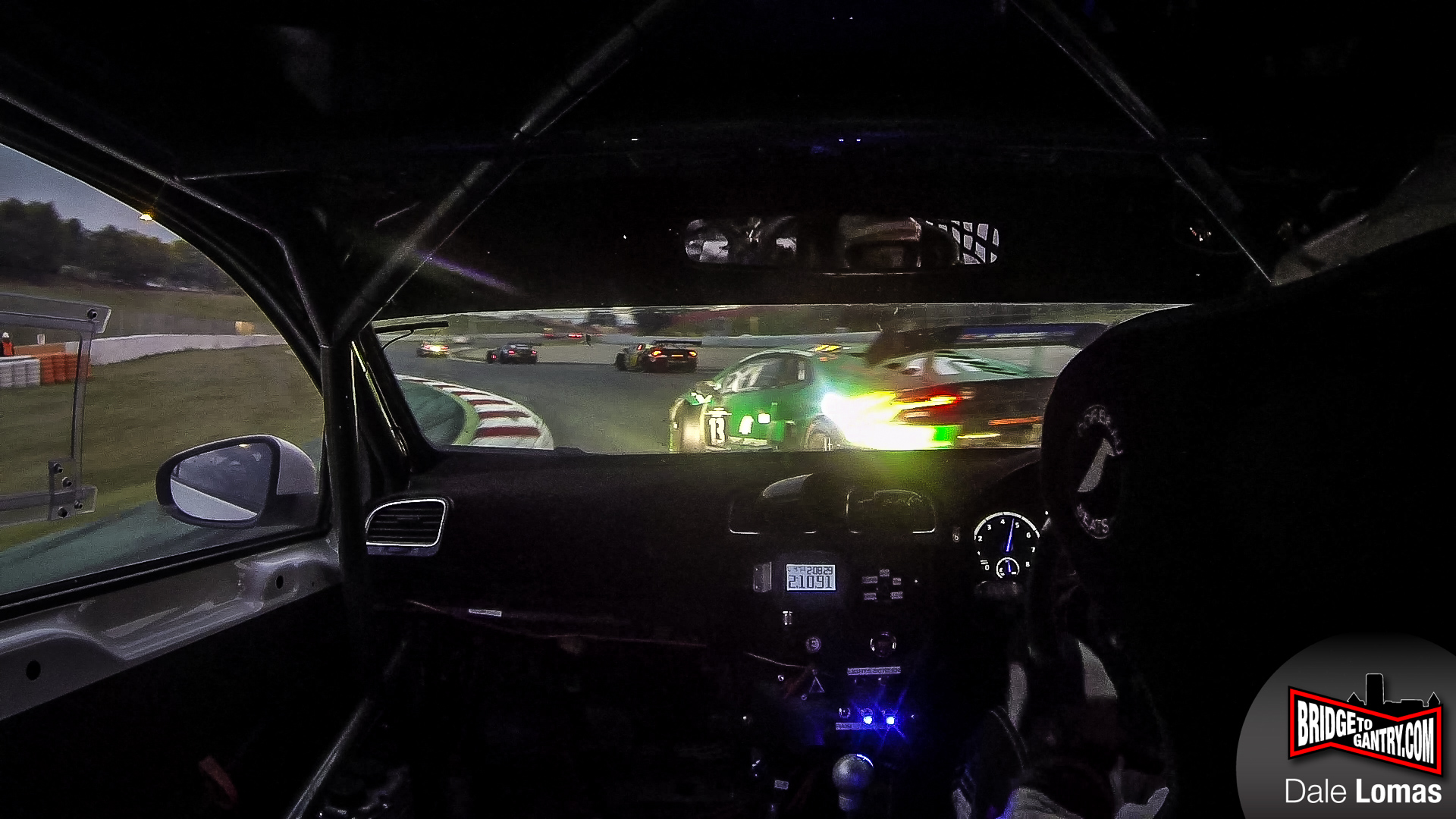 Racing at the Barcelona 24-hour with Milltek Sports